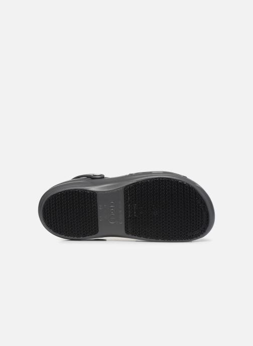 Sandales et nu-pieds Crocs Bistro m Gris vue haut