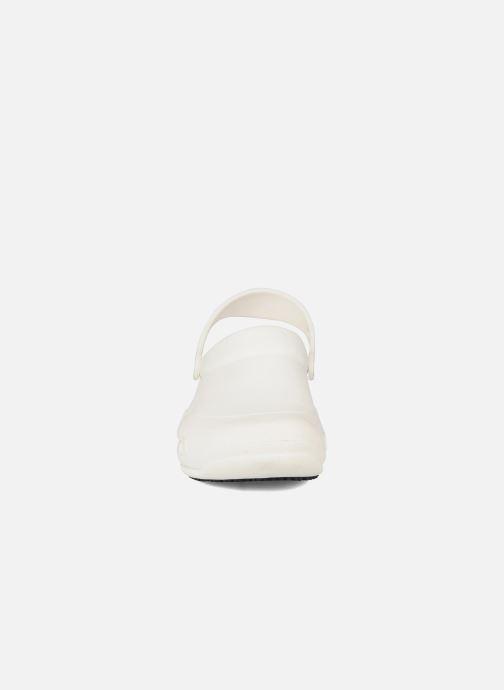 Sandalen Crocs Bistro m weiß schuhe getragen