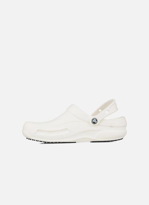 Sandales et nu-pieds Crocs Bistro m Blanc vue face