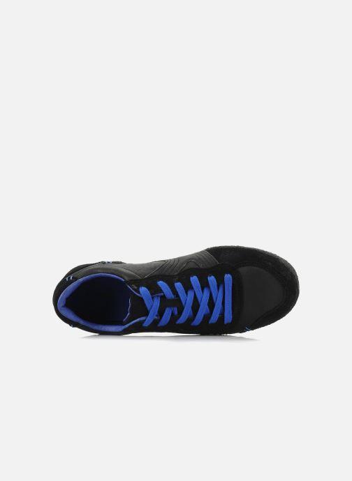 Baskets Kickers Optimum Noir vue gauche