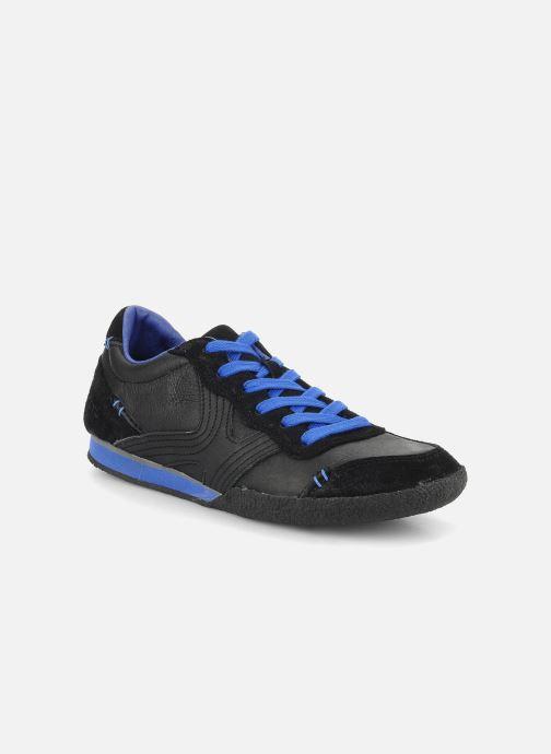 Baskets Kickers Optimum Noir vue détail/paire