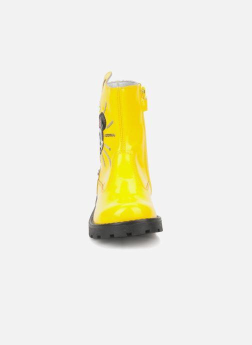 Bottines et boots Disney by Naturino Disney 758 Jaune vue portées chaussures