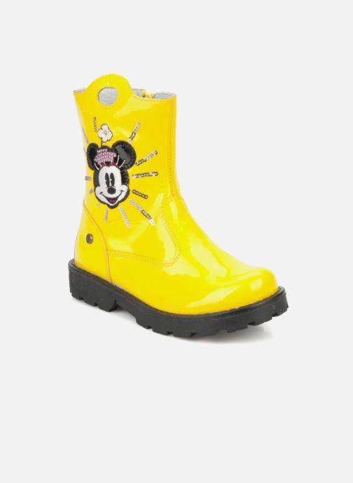 Bottines et boots Disney by Naturino Disney 758 Jaune vue détail/paire