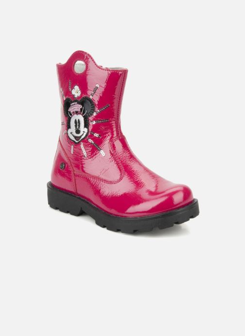 Ankle boots Disney by Naturino Disney 758 Pink detailed view/ Pair view