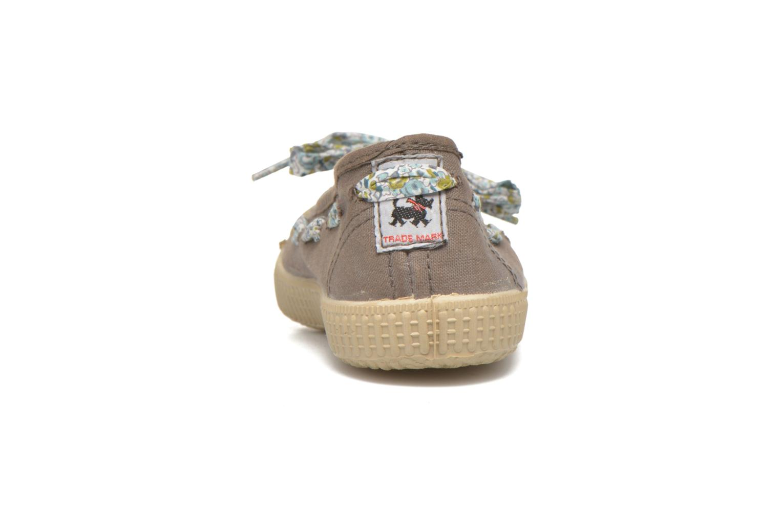 Ballerines chipie bis Rumba flolace Marron vue droite