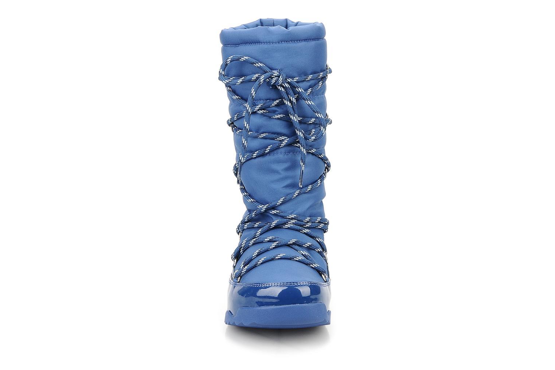 Bottines et boots FitFlop Blizzboot Bleu vue portées chaussures
