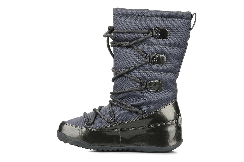 Bottines et boots FitFlop Blizz nylon Gris vue face