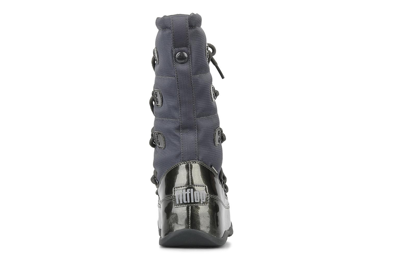 Bottines et boots FitFlop Blizz nylon Gris vue droite