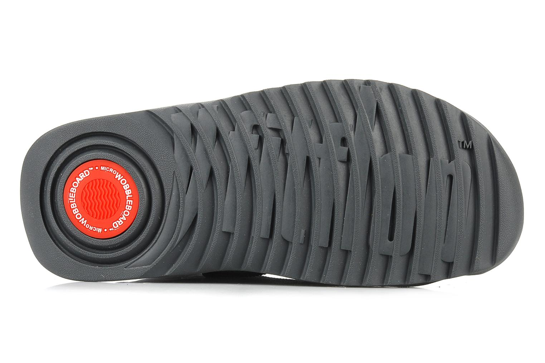Bottines et boots FitFlop Blizz nylon Gris vue haut