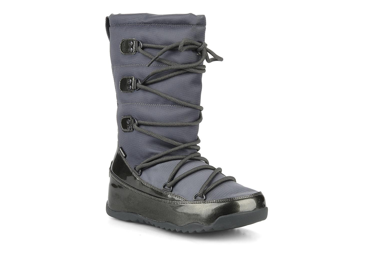 Bottines et boots FitFlop Blizz nylon Gris vue détail/paire