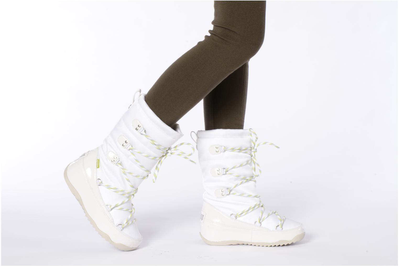 Bottines et boots FitFlop Blizz nylon Gris vue bas / vue portée sac