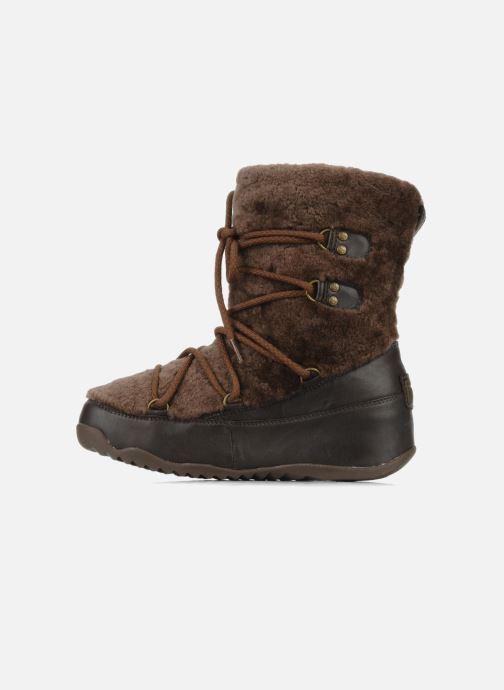 Boots en enkellaarsjes FitFlop Super blizz Bruin voorkant