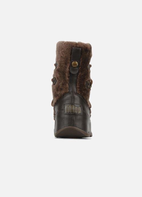 Boots en enkellaarsjes FitFlop Super blizz Bruin rechts