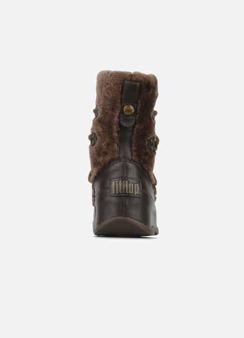 Ankle boots FitFlop Super blizz Brown view from the right