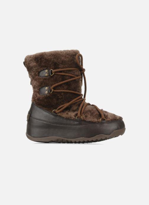 Boots en enkellaarsjes FitFlop Super blizz Bruin achterkant