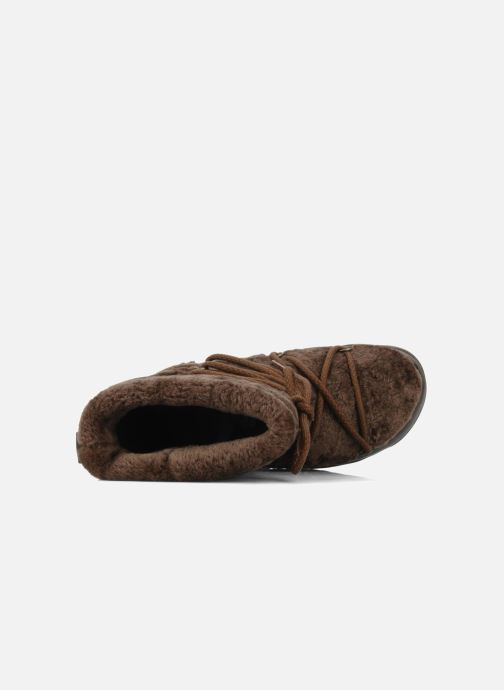 Boots en enkellaarsjes FitFlop Super blizz Bruin links