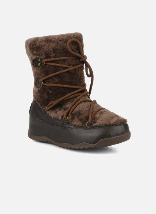 Boots en enkellaarsjes FitFlop Super blizz Bruin detail
