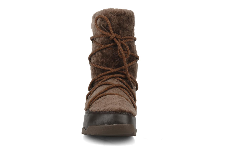 Bottines et boots FitFlop Super blizz Marron vue portées chaussures