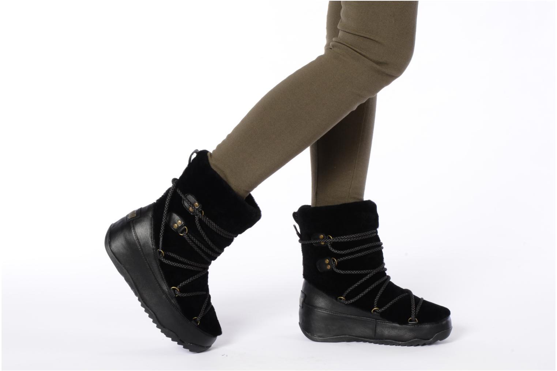 Bottines et boots FitFlop Super blizz Marron vue bas / vue portée sac