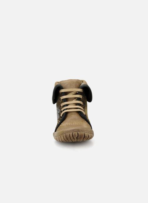 Ankle boots Noël Mini fizz Brown model view