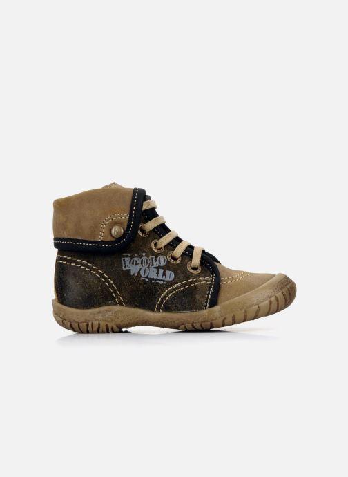 Ankle boots Noël Mini fizz Brown back view