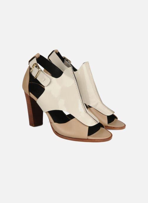 Sandalen Tila March Sandal patch Beige 3/4'