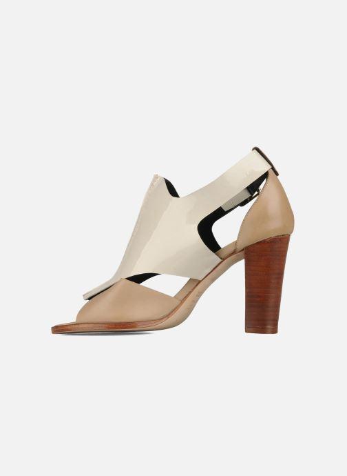 Sandales et nu-pieds Tila March Sandal patch Beige vue face