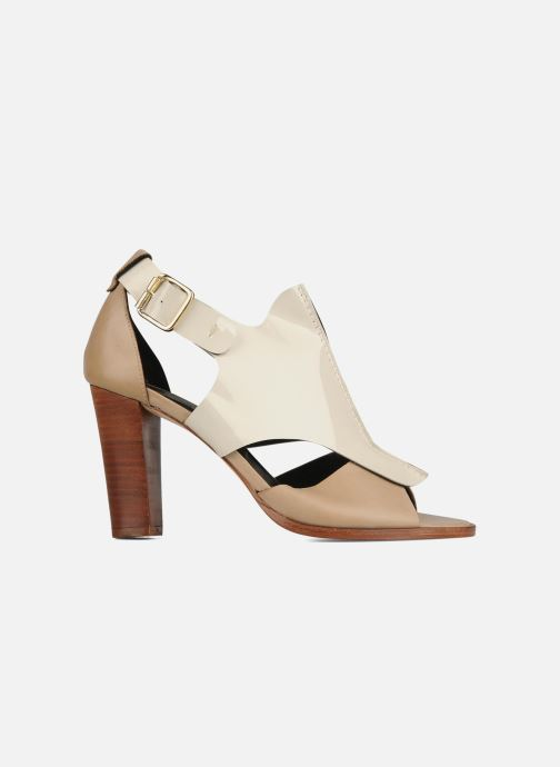 Sandales et nu-pieds Tila March Sandal patch Beige vue derrière