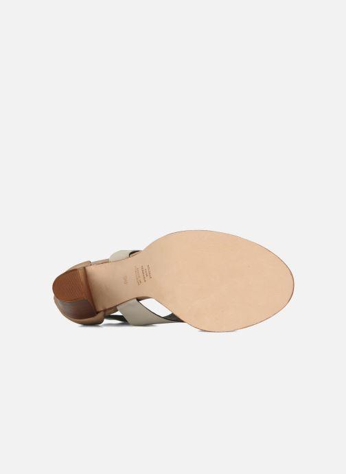 Sandales et nu-pieds Tila March Sandal patch Beige vue haut