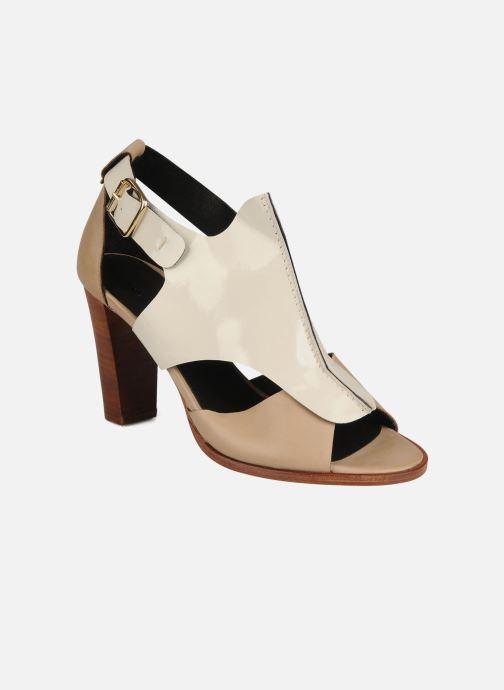 Sandales et nu-pieds Tila March Sandal patch Beige vue détail/paire