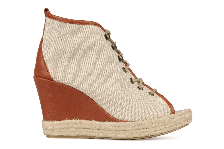 Bottines et boots Eden Tolipa Beige vue derrière