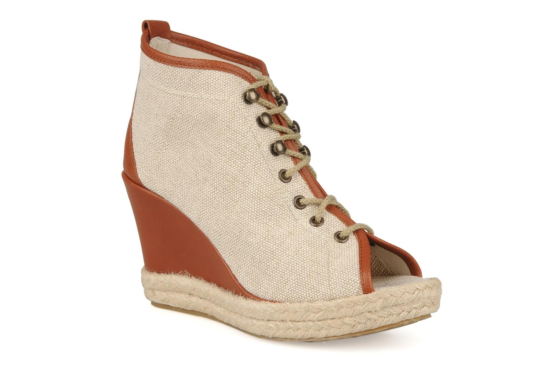 Bottines et boots Eden Tolipa Beige vue détail/paire