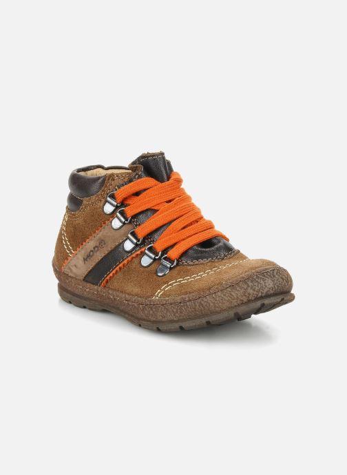 Bottines et boots Mod8 Ricor Marron vue détail/paire