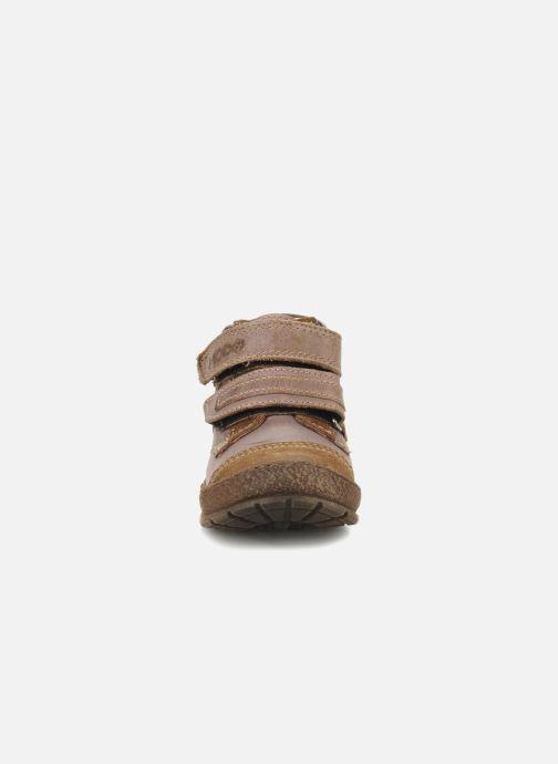 Schoenen met klitteband Mod8 Rado Bruin model