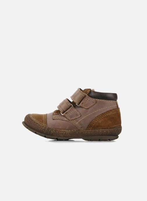 Schoenen met klitteband Mod8 Rado Bruin voorkant