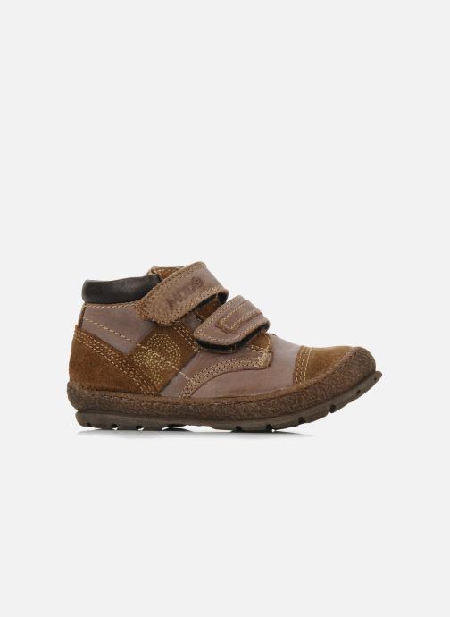 Schoenen met klitteband Mod8 Rado Bruin achterkant