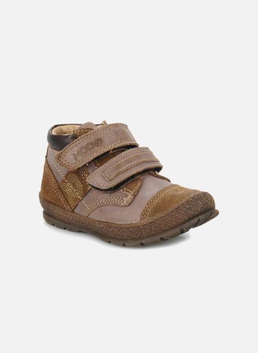 Schoenen met klitteband Mod8 Rado Bruin detail