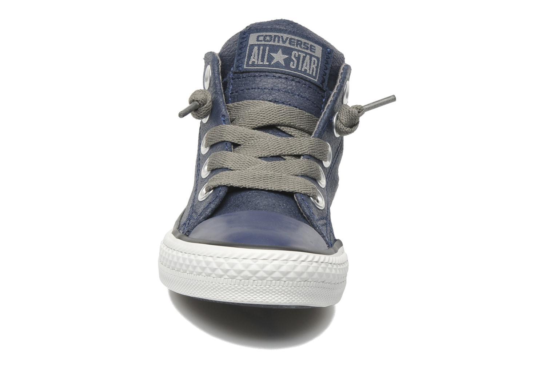 Sneakers Converse Chuck taylor all star street leather mid k Blå bild av skorna på