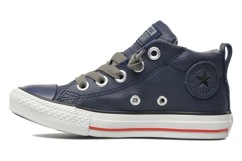 Sneakers Converse Chuck taylor all star street leather mid k Blå bild från framsidan