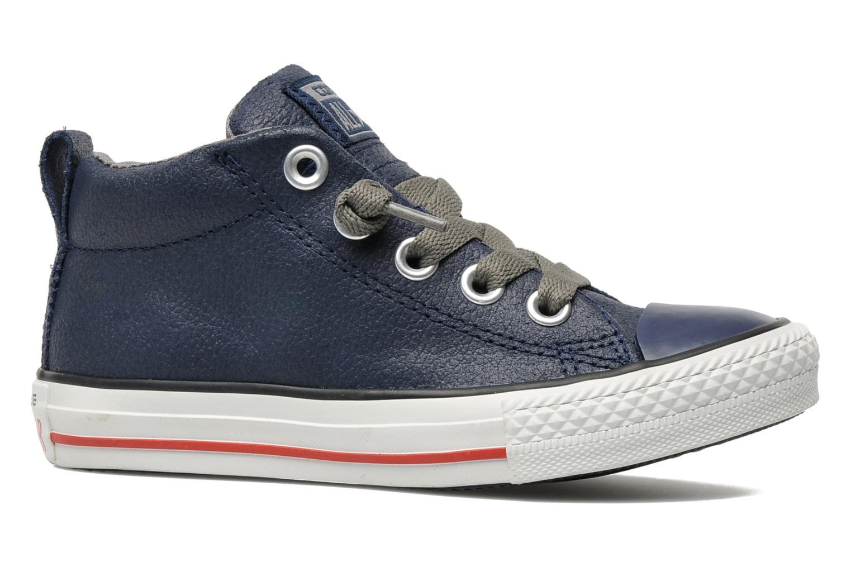 Sneakers Converse Chuck taylor all star street leather mid k Blå bild från baksidan