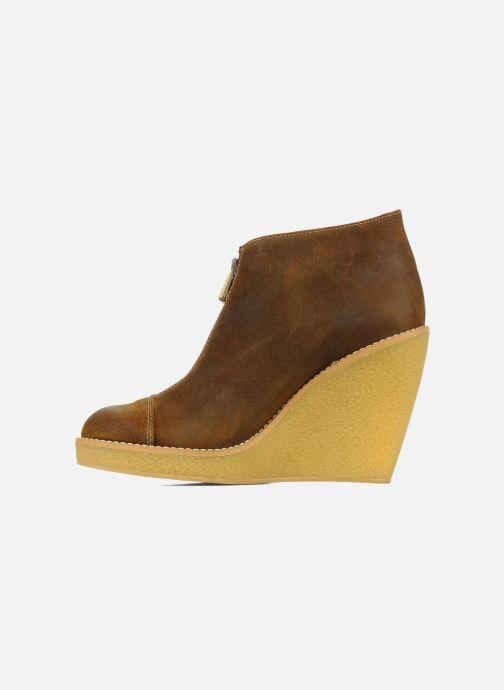 Boots en enkellaarsjes Tatoosh Badiane Bruin voorkant