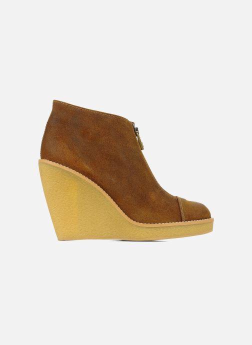Boots en enkellaarsjes Tatoosh Badiane Bruin achterkant
