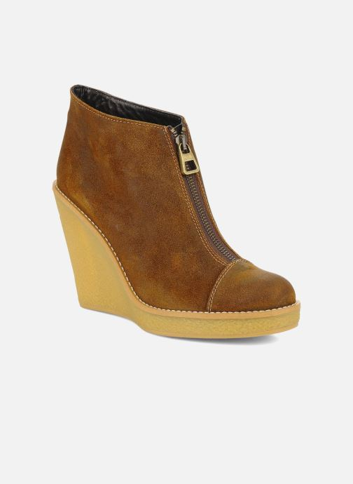 Boots en enkellaarsjes Tatoosh Badiane Bruin detail