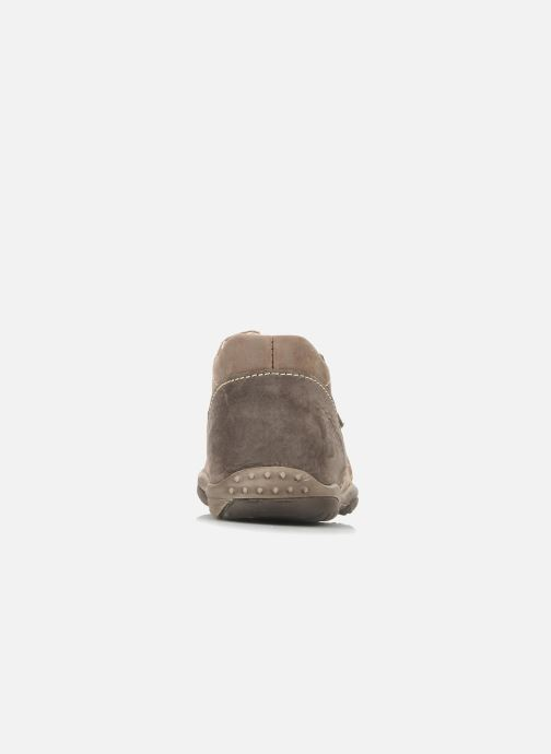 Ankle boots Little Mary Indigene Brown view from the right