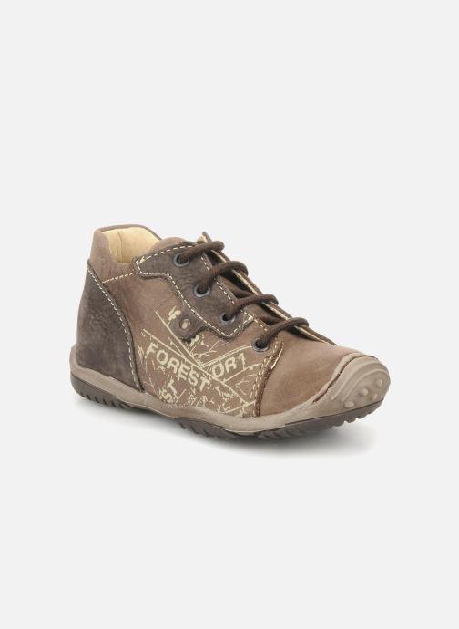 Ankelstøvler Little Mary Indigene Brun detaljeret billede af skoene
