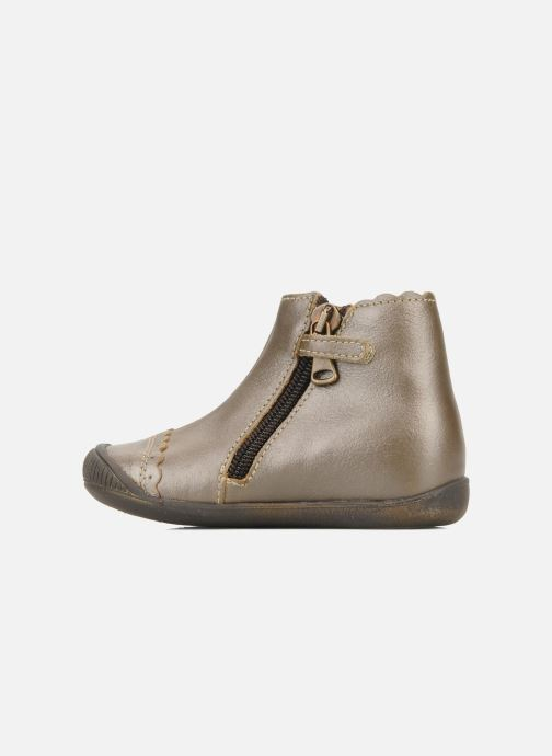 Ankle boots Little Mary Ibiza Brown front view