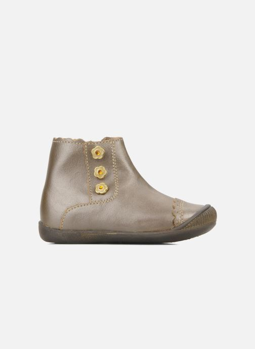 Ankle boots Little Mary Ibiza Brown back view