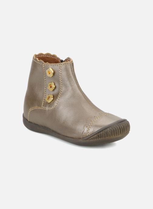 Ankle boots Little Mary Ibiza Brown detailed view/ Pair view