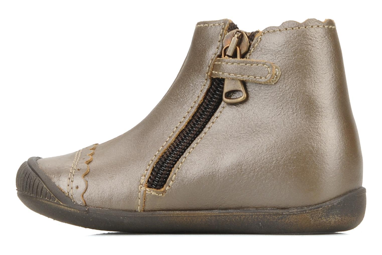 Bottines et boots Little Mary Ibiza Marron vue face