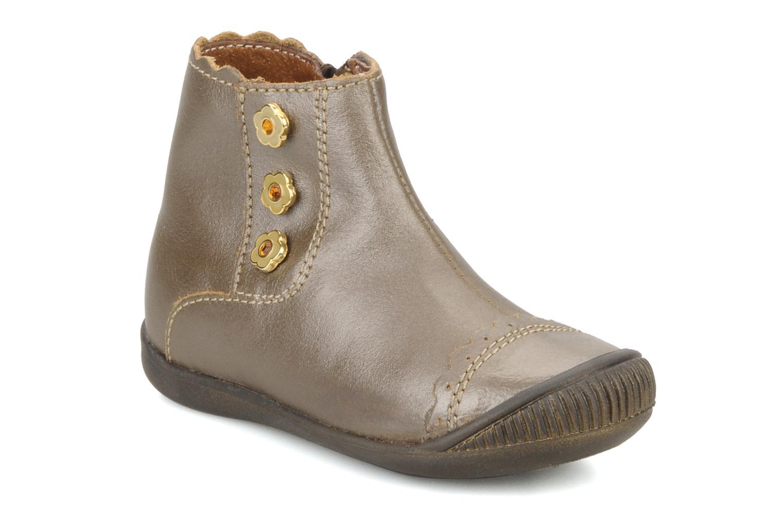 Bottines et boots Little Mary Ibiza Marron vue détail/paire